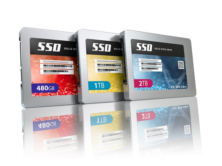 ssd state solid drives disks
