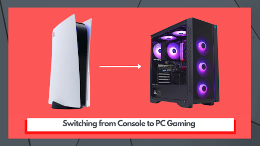 switching from console to pc